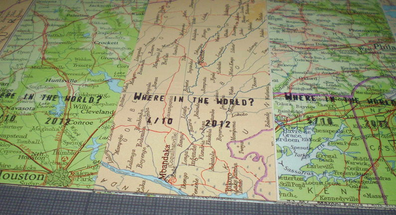 Where in the world?, Hazel Grainger