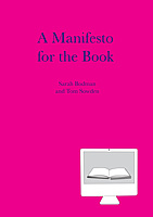 A Manifesto for the Book