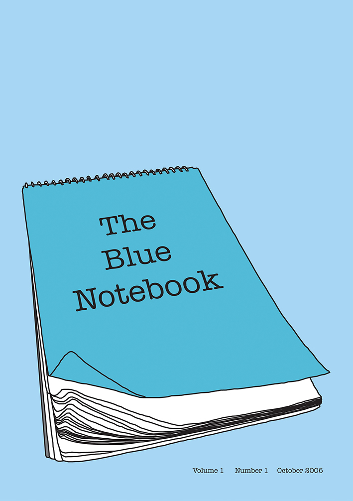 Blue notebook Vol 1-1 cover