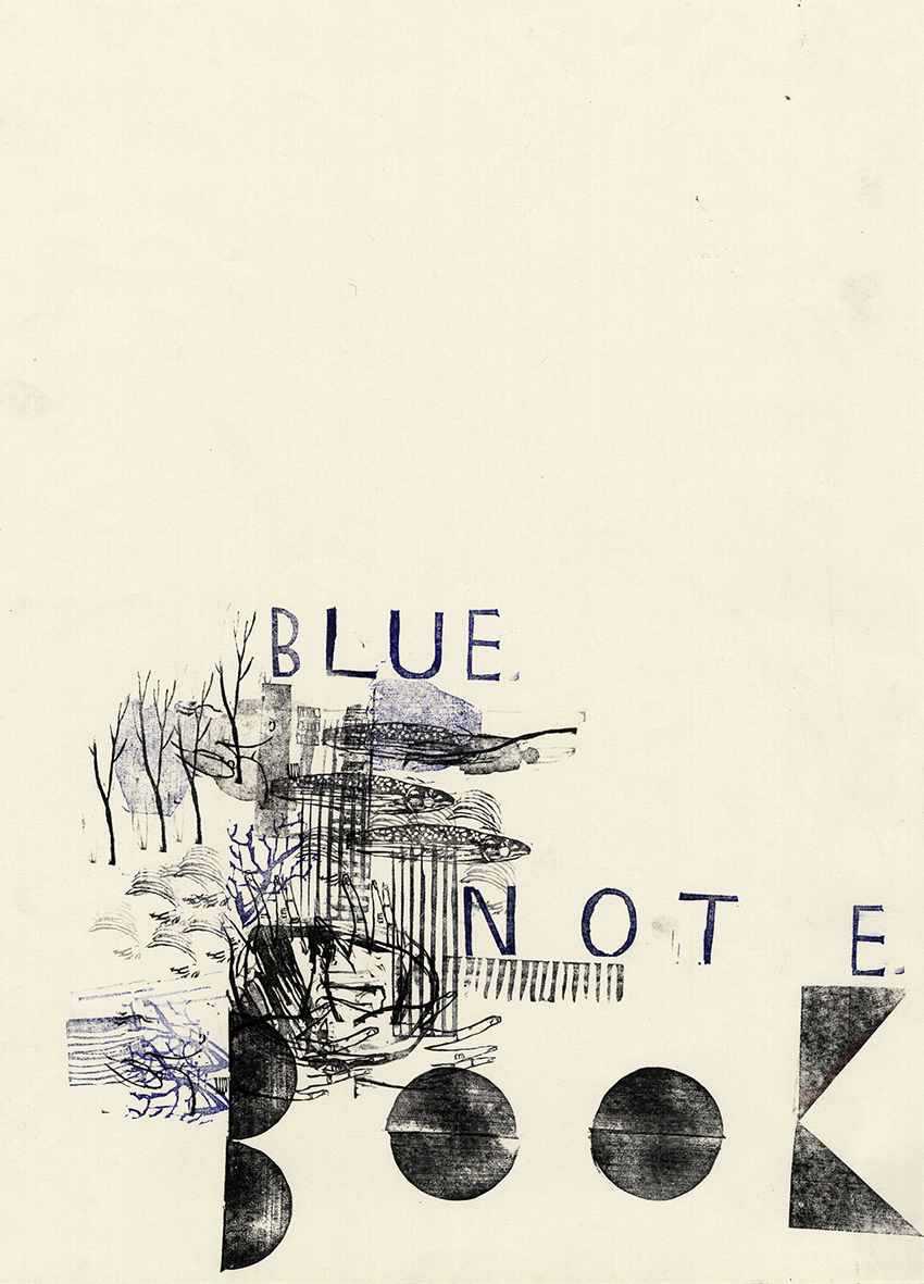 Blue notebook Vol 4-1 cover